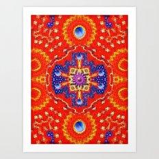 Star Flake Art Print