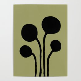 Centella olive Poster