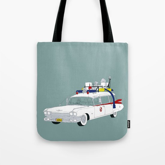 Ecto-1 Tote Bag