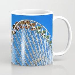 Back to my childhood - Ferris Wheel of Lyon - Fine Art Travel Photography Coffee Mug