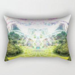 Cosmic Garden Sutra Rectangular Pillow