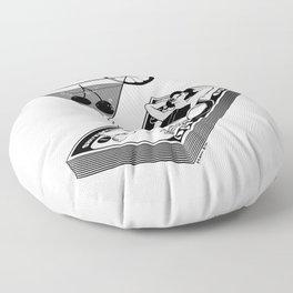 Billionaire Floor Pillow