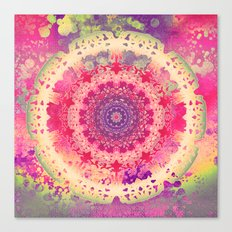 Anenome Mandala Canvas Print