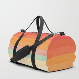 Rainbow Chevrons II Duffle Bag