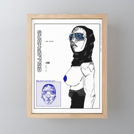 cellophane Framed Mini Art Print