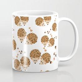 Hedgehogs in autumn Coffee Mug