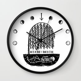 Till Death Wall Clock