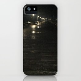 A walk alone iPhone Case