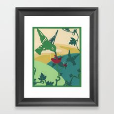 Wine Can Be Sweet Framed Art Print