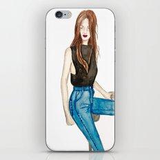 I am I am I am iPhone & iPod Skin