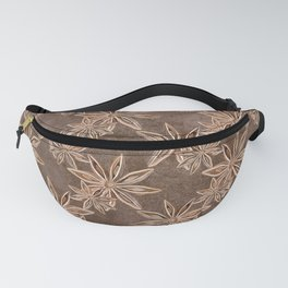 Star Anise Spice Fanny Pack