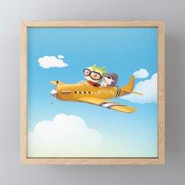Fly Away Framed Mini Art Print