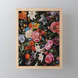 Night Garden XXXVI Framed Mini Art Print