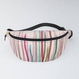 Rainbow Seeds Sprouts Circle of Life Flowers Fanny Pack