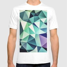 :: digital pattern :: Mens Fitted Tee White MEDIUM