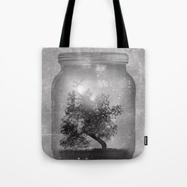 Black and White - Saving Nature Tote Bag