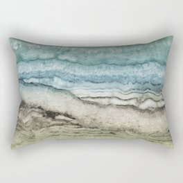 Mystic Stone Emerge Rectangular Pillow