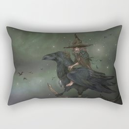 Munin, Autumn Spirit Rectangular Pillow