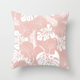 Tropical pattern 020 Throw Pillow