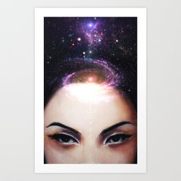 I Need My Space Art Print