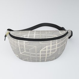 Linked Squares Fanny Pack