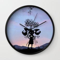 Poison Ivy Kid Wall Clock