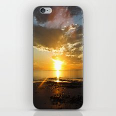 sunset over Broome iPhone & iPod Skin