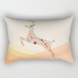 Christmas reindeer 5 Rectangular Pillow