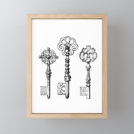 Secret Framed Mini Art Print