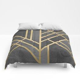 Art Deco Geometry 1 Comforters