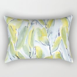 Growth Green Rectangular Pillow