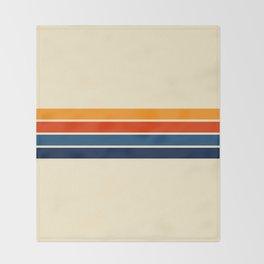 Classic Retro Stripes Decke