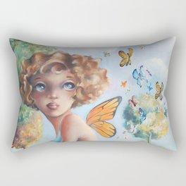 Amelia, Courage to Fly Rectangular Pillow