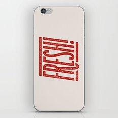 FRESH! iPhone & iPod Skin