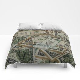Dollar Bills Comforters
