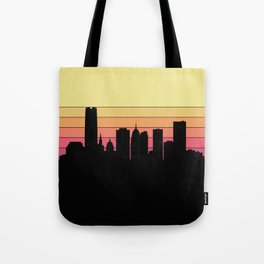 Oklahoma City Skyline Tote Bag