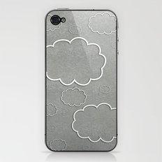 Cartoon Sky iPhone & iPod Skin