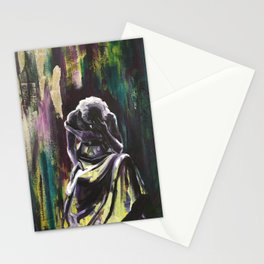 Dark Night of the Soul - You will not be overcome Stationery Cards