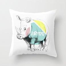 //RINO Throw Pillow