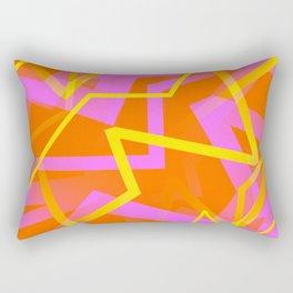 Calypso - Abstract Rectangular Pillow