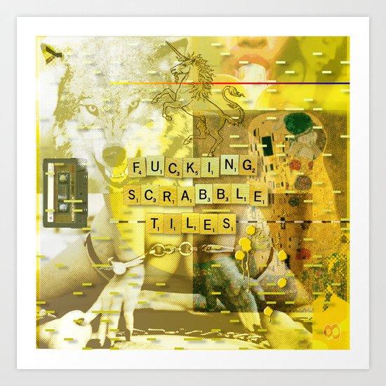 Let Me Check My Calendar < The NO Series (Yellow) Art Print