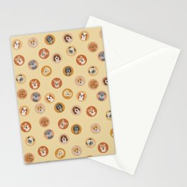 Cute Dogs 1 Stationery Cards