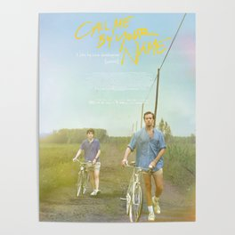 Call Me By Your Name Bike Poster