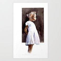 lontano  Art Print