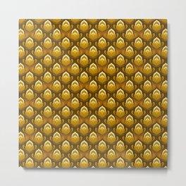 Golden Haze Metal Print