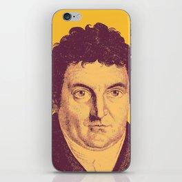 Johann Gottlieb Fichte iPhone Skin