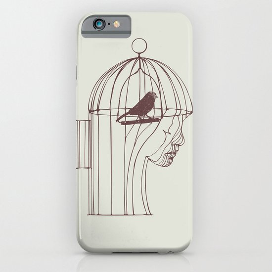 Be Alone iPhone & iPod Case