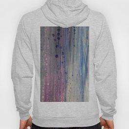 Rainbow Rain - Abstract Acrylic Art by Fluid Nature Hoody
