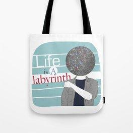 LABYRIRNTH Tote Bag
