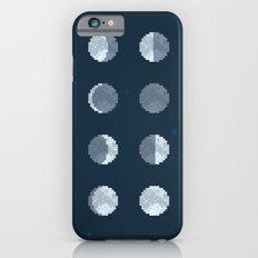 8bit Moon Phases Slim Case iPhone 6s
